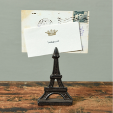 Eiffel Tower Place Card Holder, cast iron