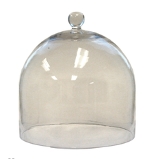 LPM Glass Dome Clear, large