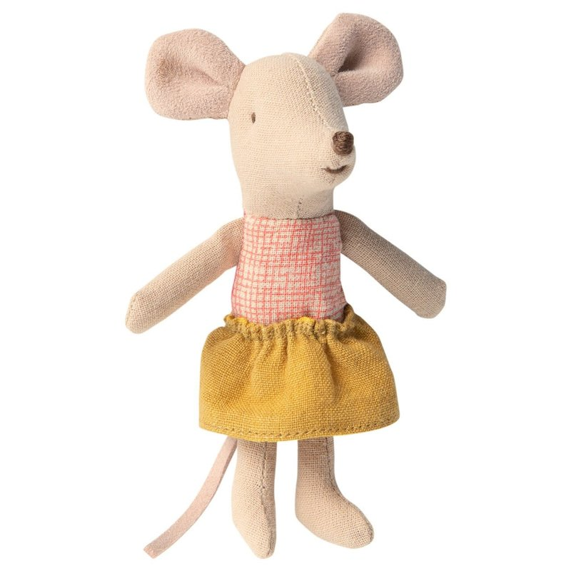 Maileg Little Sister Mouse in Matchbox