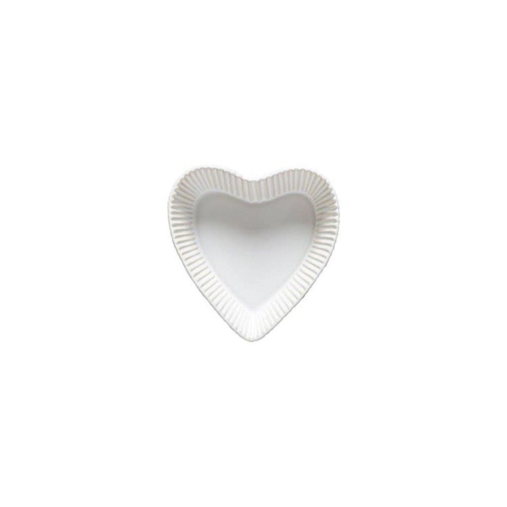 White Heart Bowl Bakeware