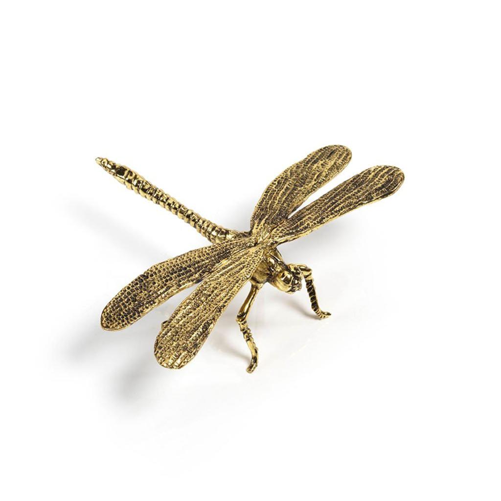 LPM Decorative Gold Dragonfly
