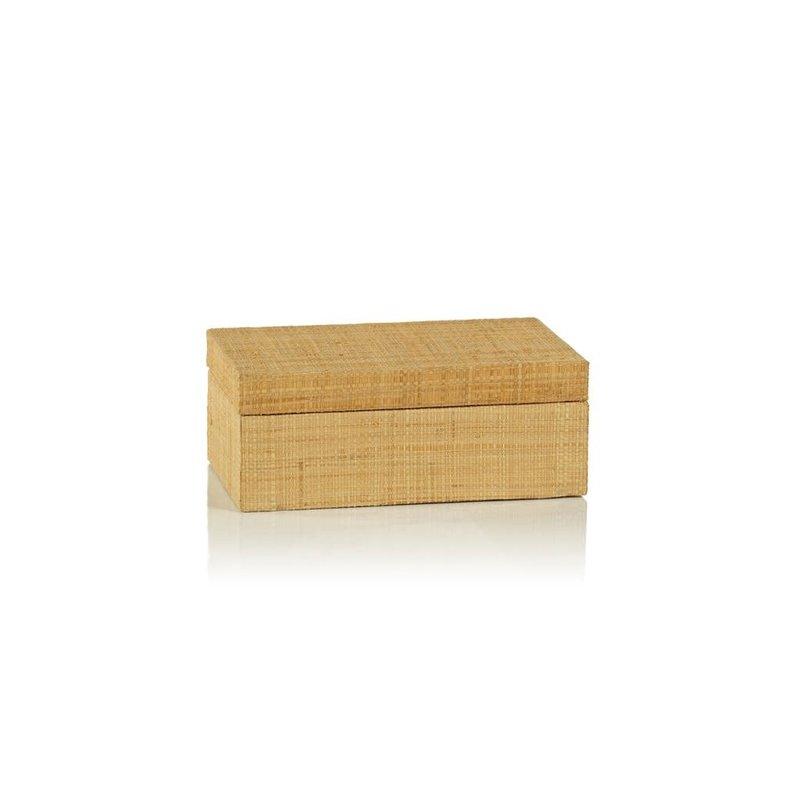 LPM Bungalow Grasscloth Box, Small