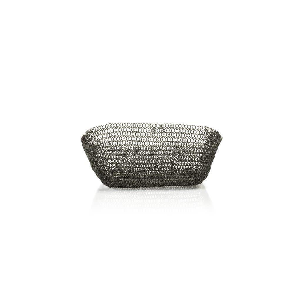 LPM Lola Lace Wire Basket, Small