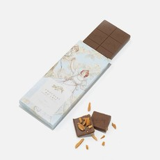Boissier Milk Chocolate Bar with Caramelized Almonds
