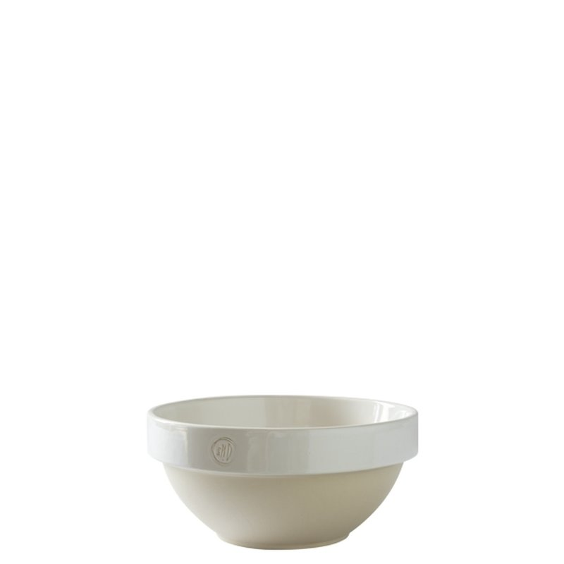 Manufacture de Digoin Serving Bowl, White