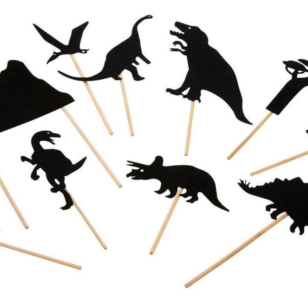Moulin Roty Les Petites Merveilles - Dinosaur Shadow Puppets