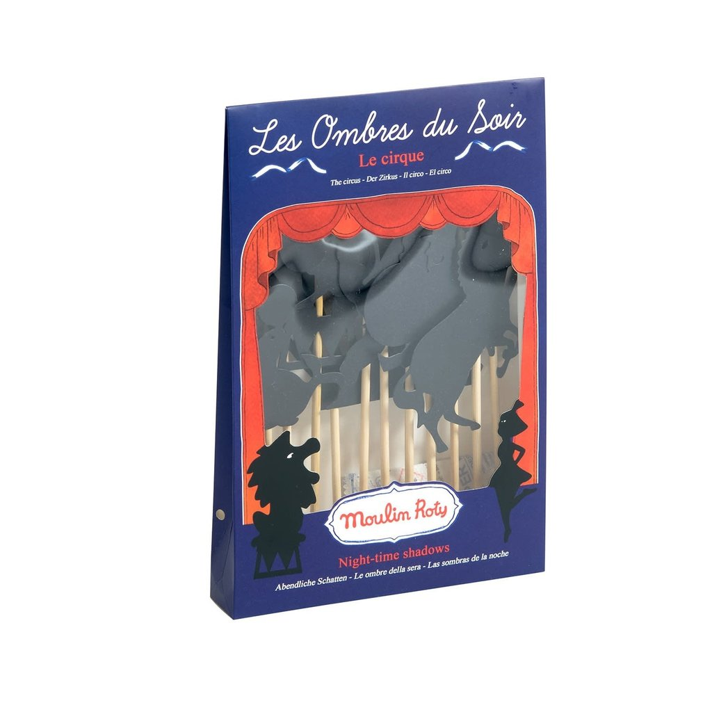 Moulin Roty Les Petites Merveilles- Circus Shadow Puppets