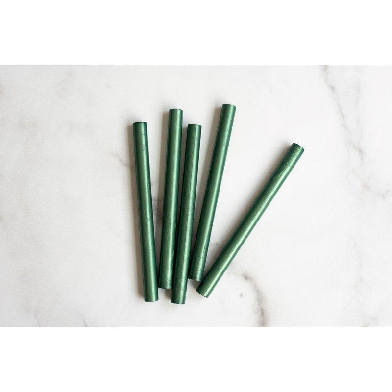 Sealing Wax Sticks, Spruce Green