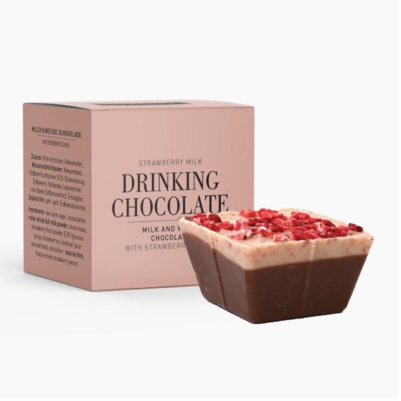 Chocolate Drinking Chocolate, Strawberry Milk