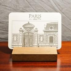 LPM Card, Carriage Door of a Parisian Building