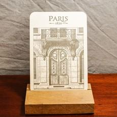 LPM Card, Door of Parisian Building Boulevard Sébastopol