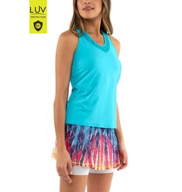 Lucky In Love V-Neck Breeze Tank