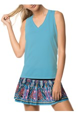 Lucky In Love Relaxed Racer Tank