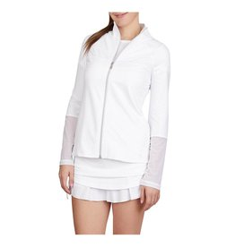 Sofibella Tennis Jacket White and Diamond