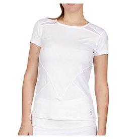 Sofibella Tennis Top White and Diamond
