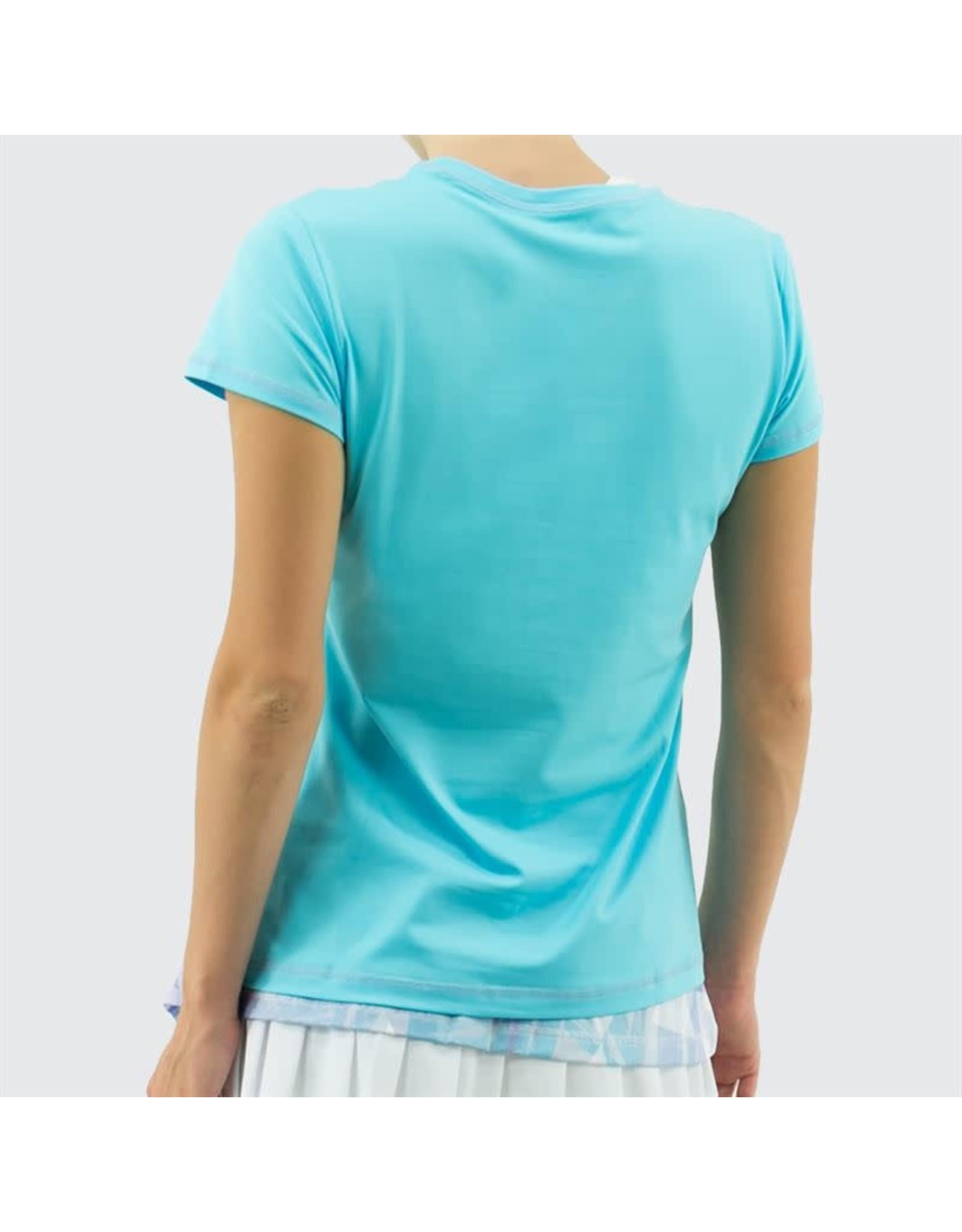 Sofibella UV Colors Short Sleeve Top
