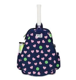 Ame & Lulu Little Love Tennis Backpack Hearts