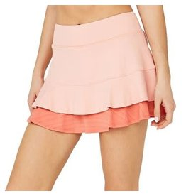 Lija Center Point Skort (Conch Shell/Watermelon)