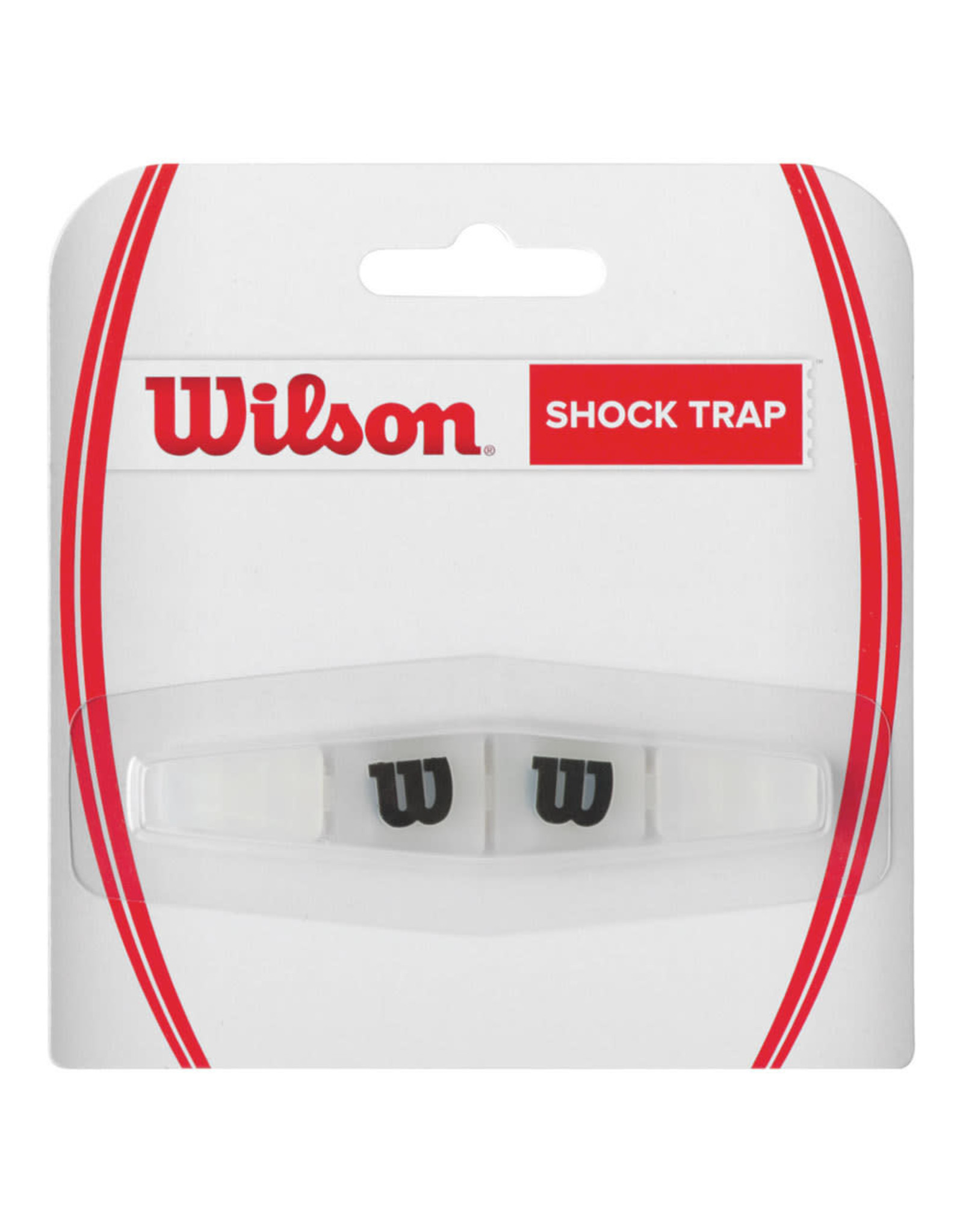 Wilson Shock Trap Clear with Black W