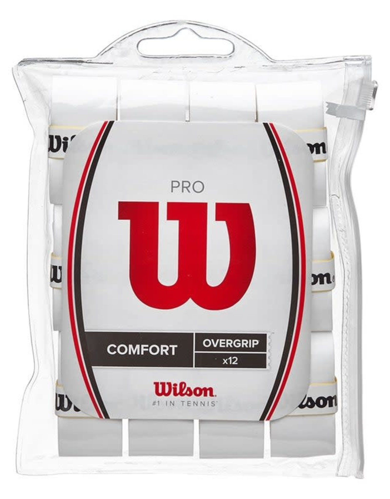 Wilson Pro Overgrip WHITE 12pck