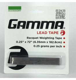 """Gamma Lead Tape 72"""" x 1/4"""""""