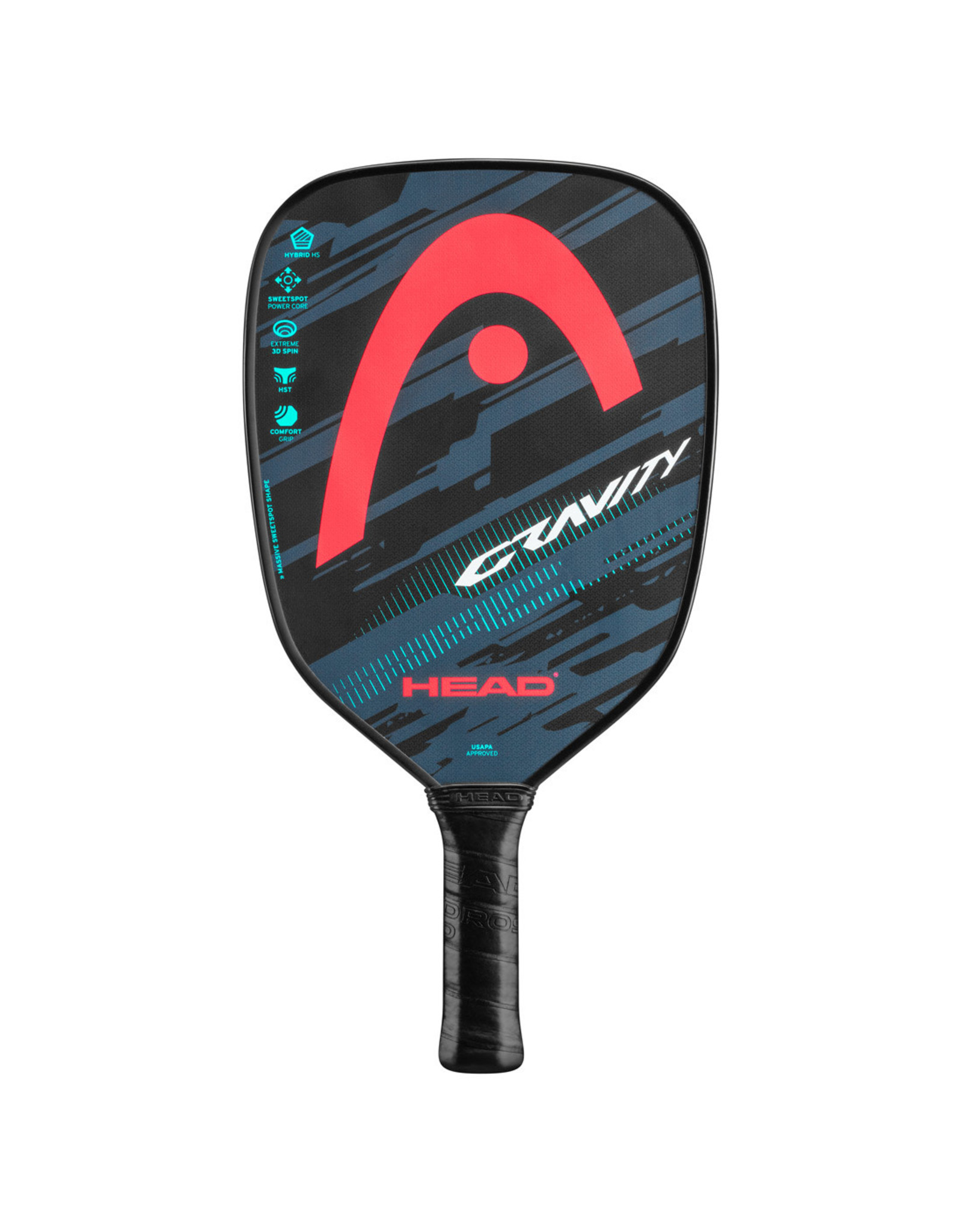 Head Head Gravity Pickleball Paddle (Teal/Crim)