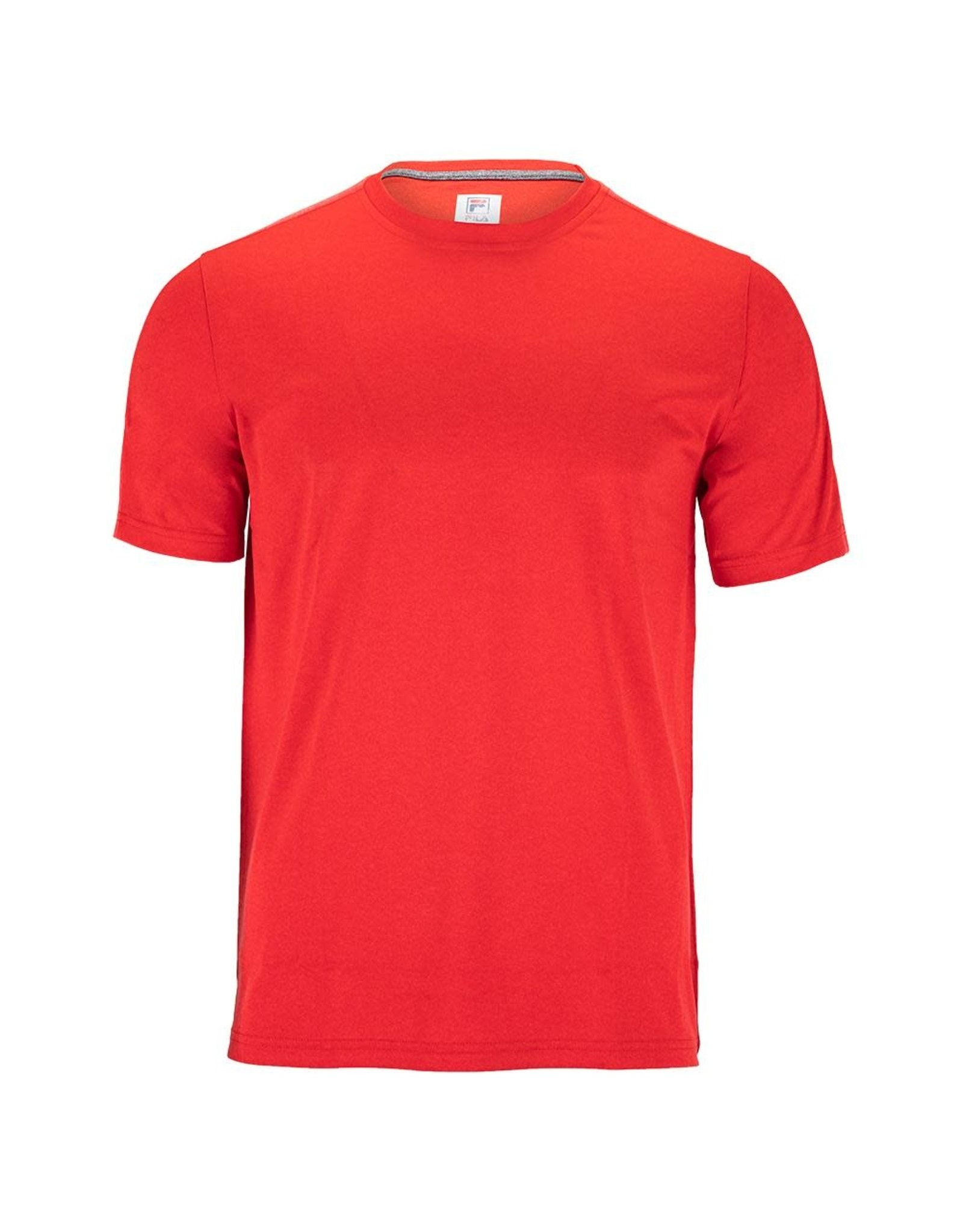 Fila Fila Essentials Heather Mesh Crew (Red)