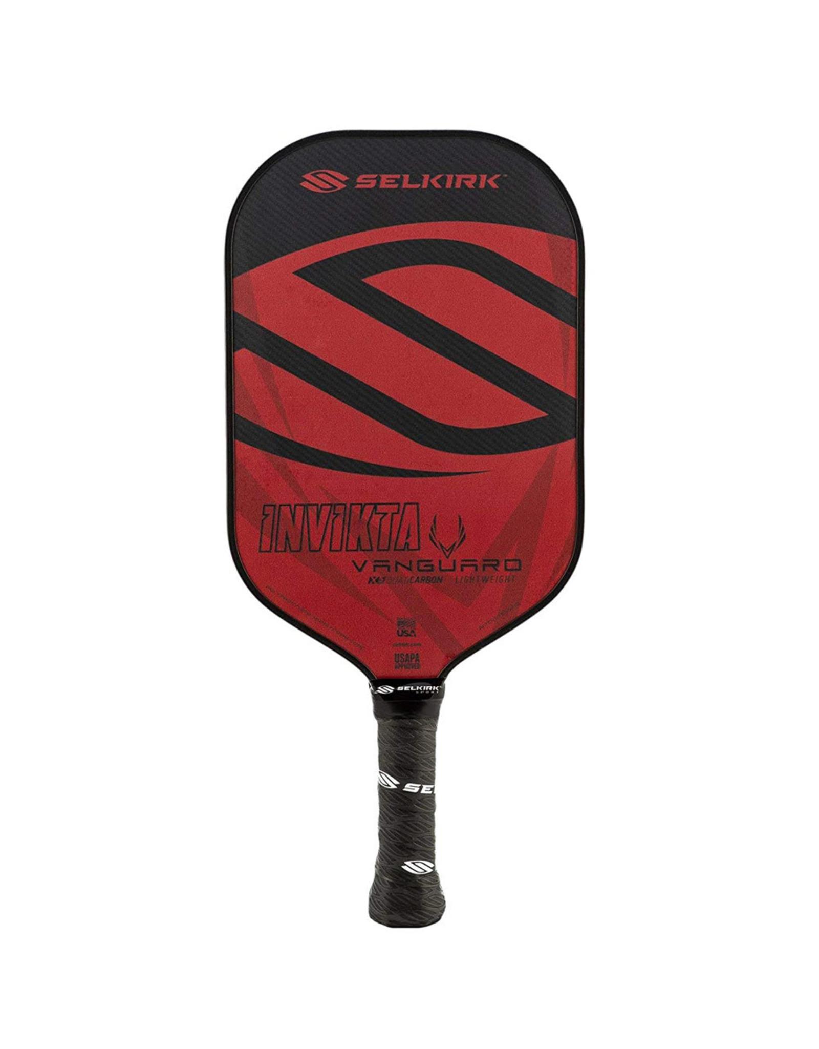 Selkirk Selkirk Vanguard Hybrid Invikta Lightweight Crimson Black