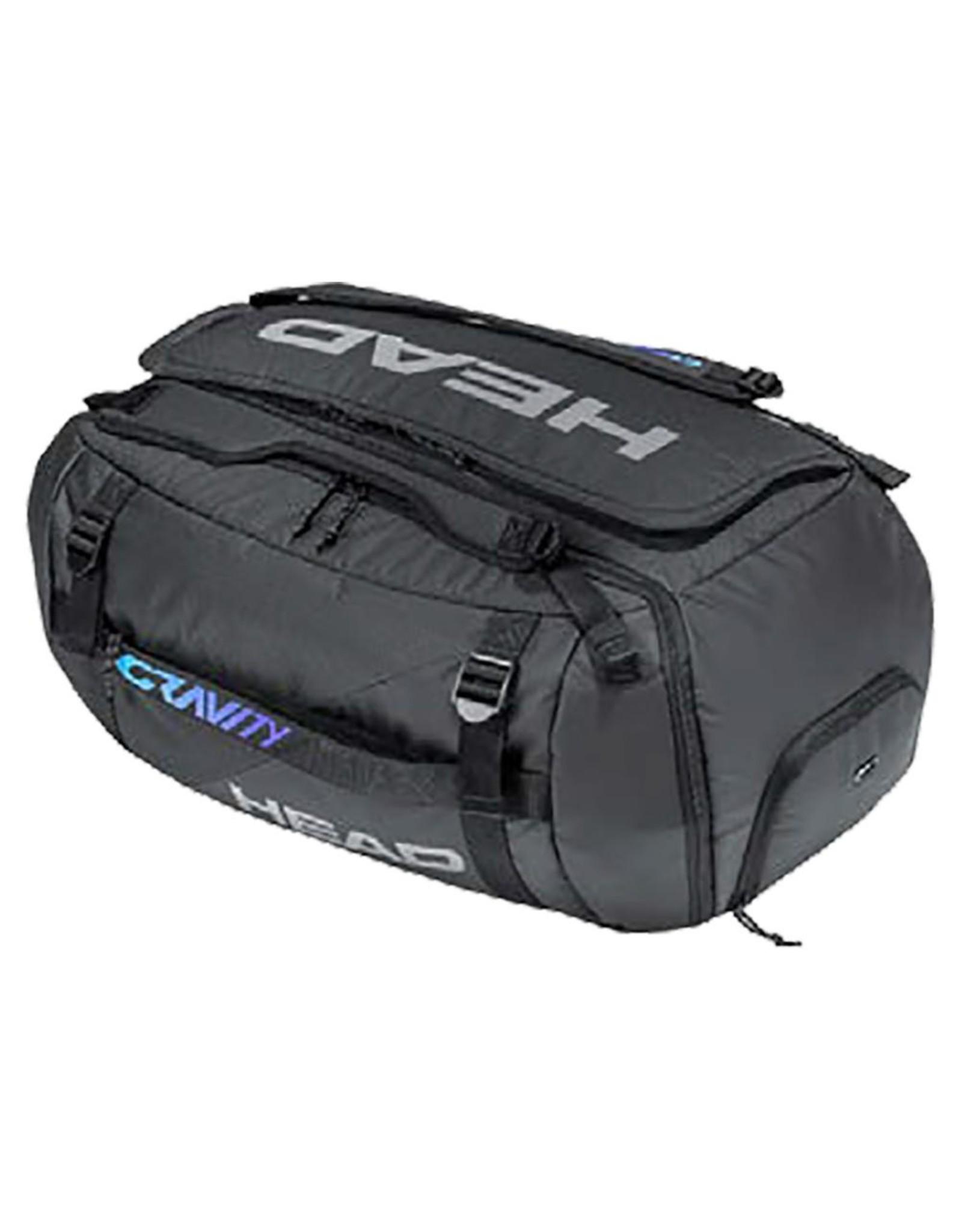 Head Head Gravity Tennis Duffle Bag Black and Mixed