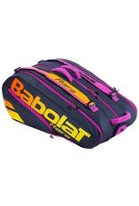 Babolat Pure Aero Rafa Black/Orange 12R Tennis Bag