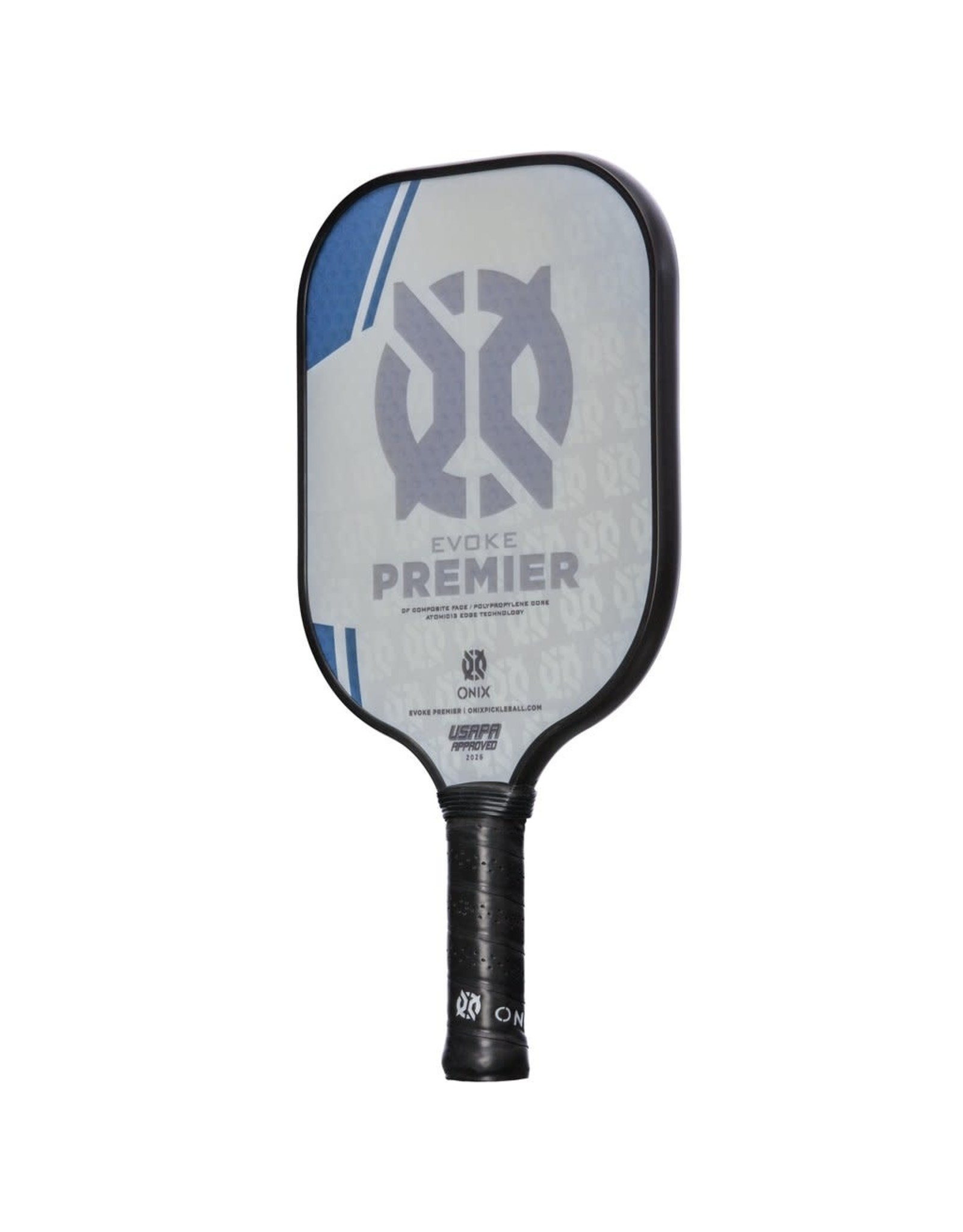 Onix Onix Evoke Premier Standard Weight Blue Pickleball Paddle