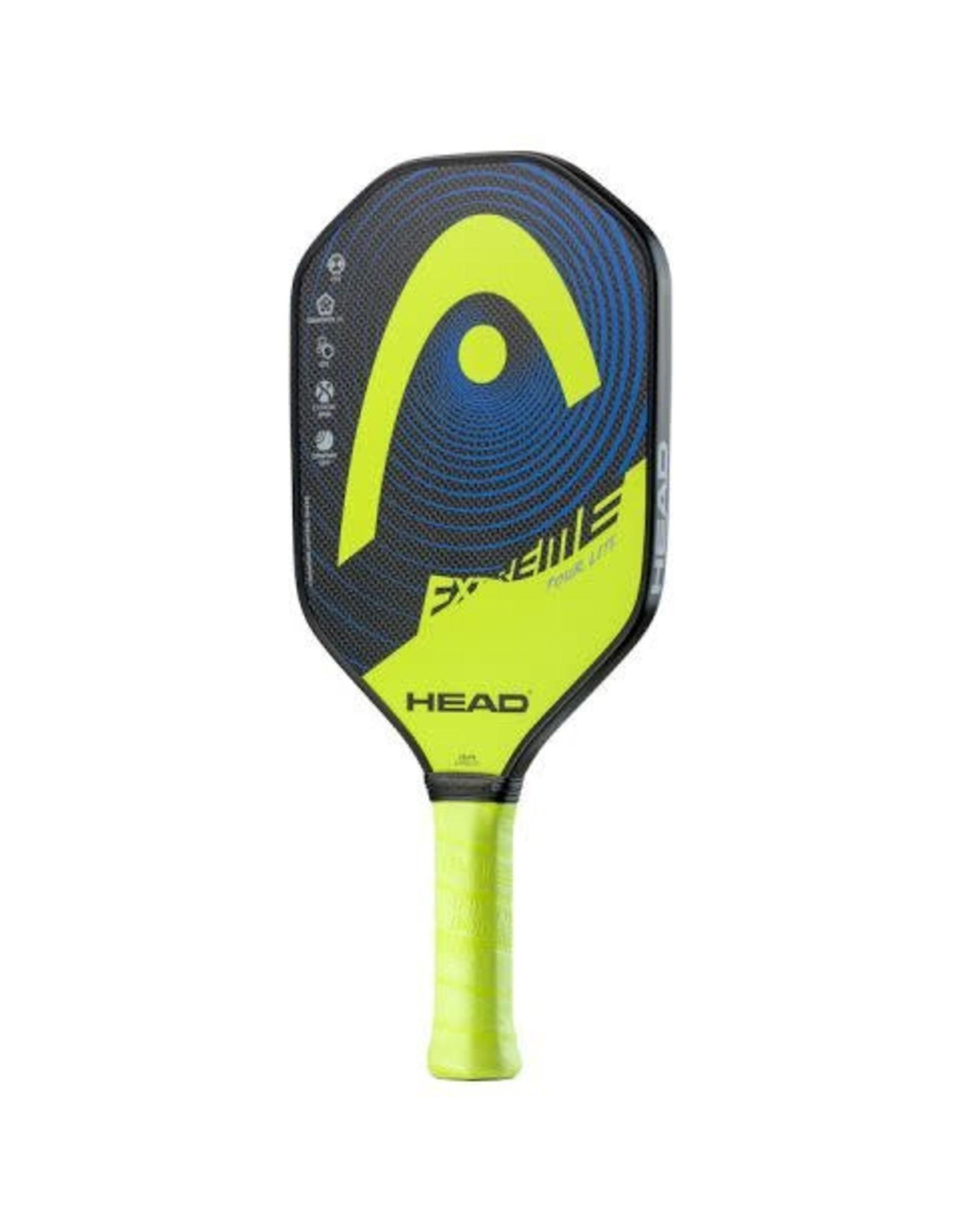 Head Head Extreme Tour Lite Yellow (2021) Pickleball Paddle
