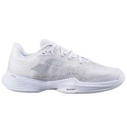 Babolat Babolat Women's Jet Mach 3 AC Tennis Shoes (White/Silver)