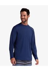 Bloq UV BloqUv Men's Jet Tee Long Sleeve Shirt  Navy