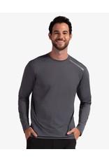 Bloq UV BloqUv Men's Jet Tee Long Sleeve Shirt Smoke