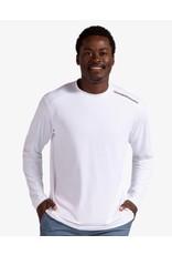 Bloq UV BloqUv Men's Jet Tee Long Sleeve Shirt White