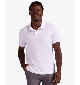 Bloq UV BloqUv Men's Collared Short Sleeve Shirt White
