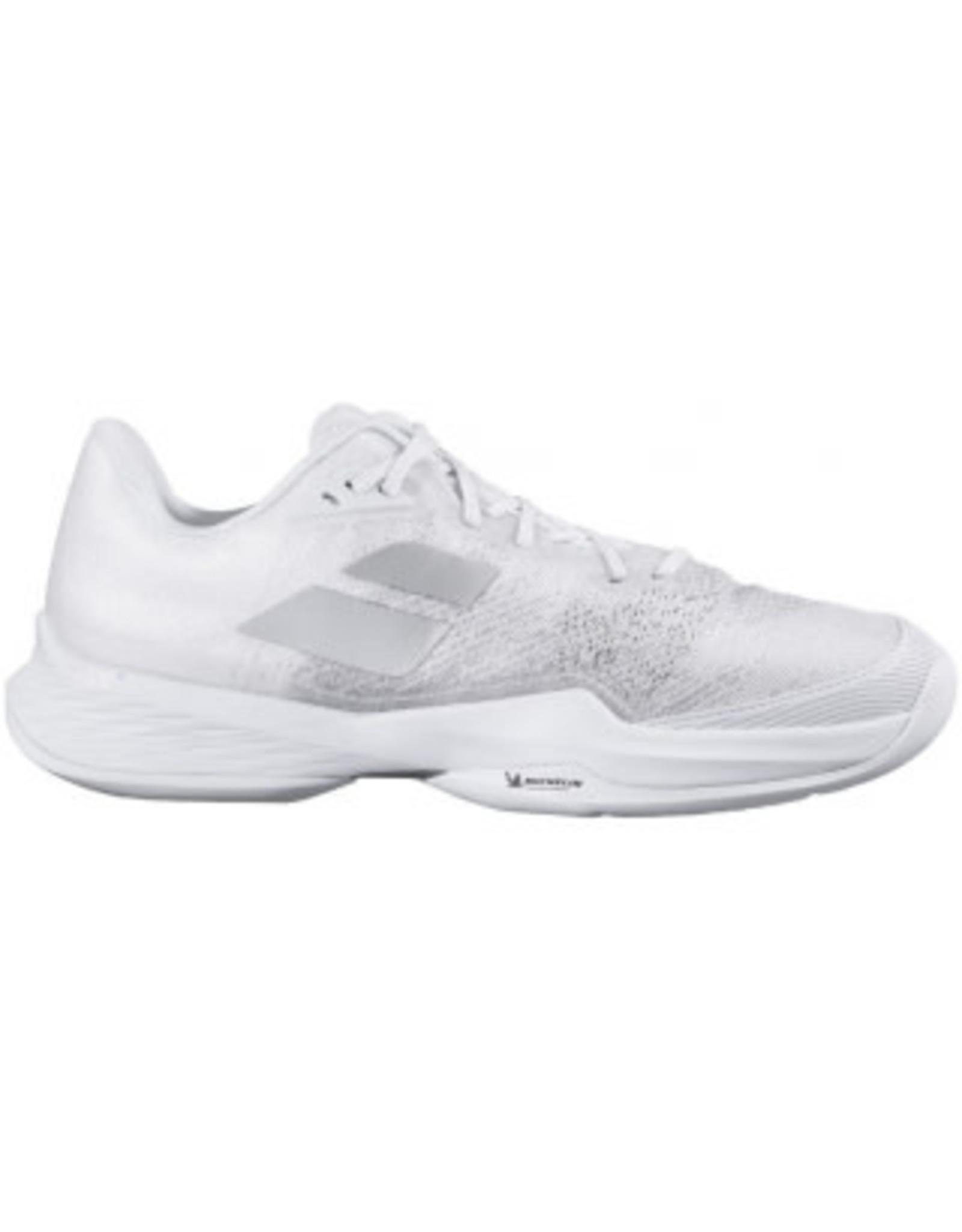 Babolat Babolat Jet Mach 3 AC Men's Tennis Shoes (White/Silver)