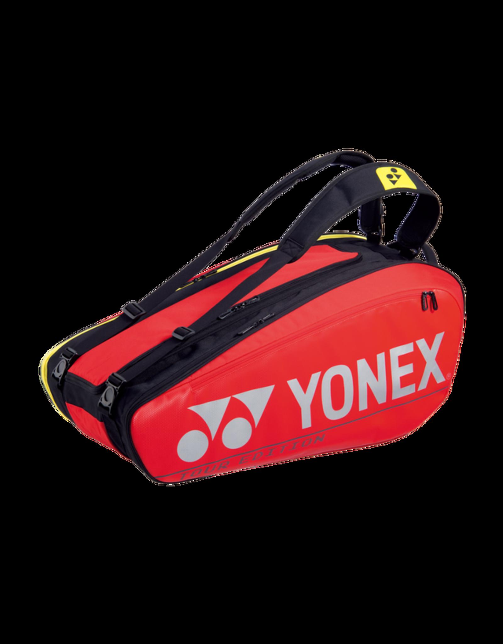Yonex Pro Racquet Bag  Red (9Pcs)
