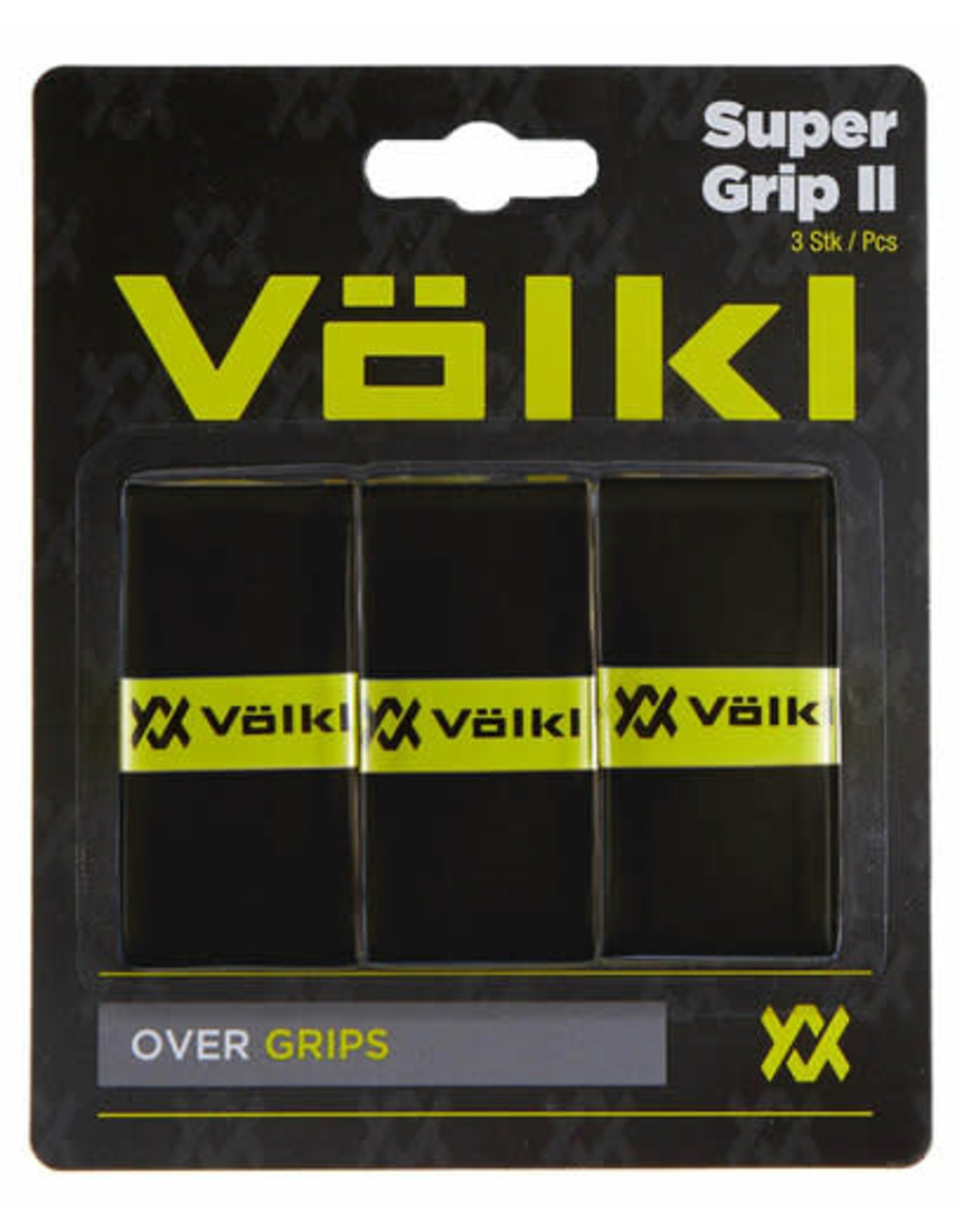 Volkl Super Grip II (3 pack) Black