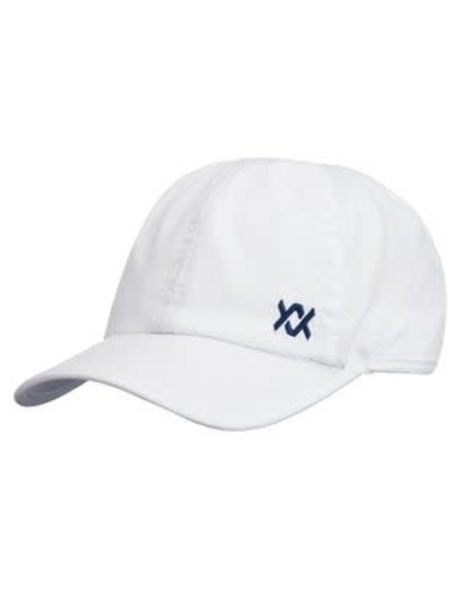 Volkl Perf Hat Small Logo (White/Navy)