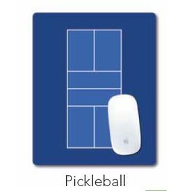 Racquet Inc Pickleball Court Mouse Pad