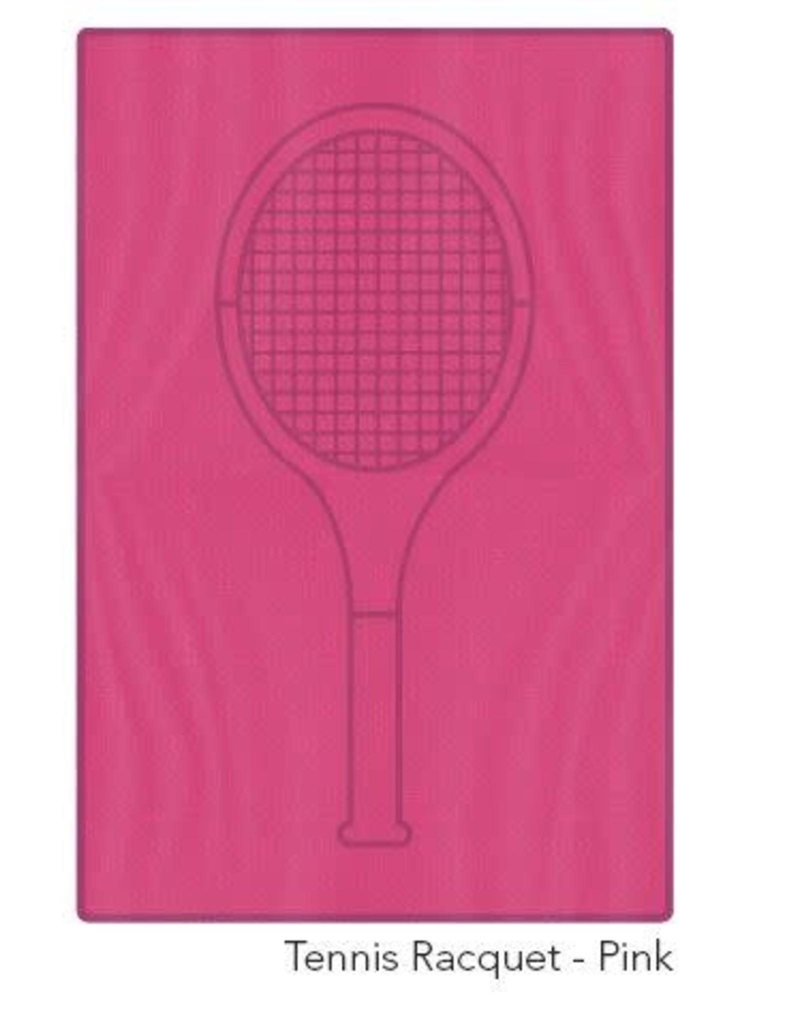 Racquet Inc Tennis Racquet Towel (Pink)