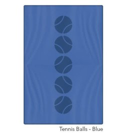 Racquet Inc Tennis Balls Towel (Blue)