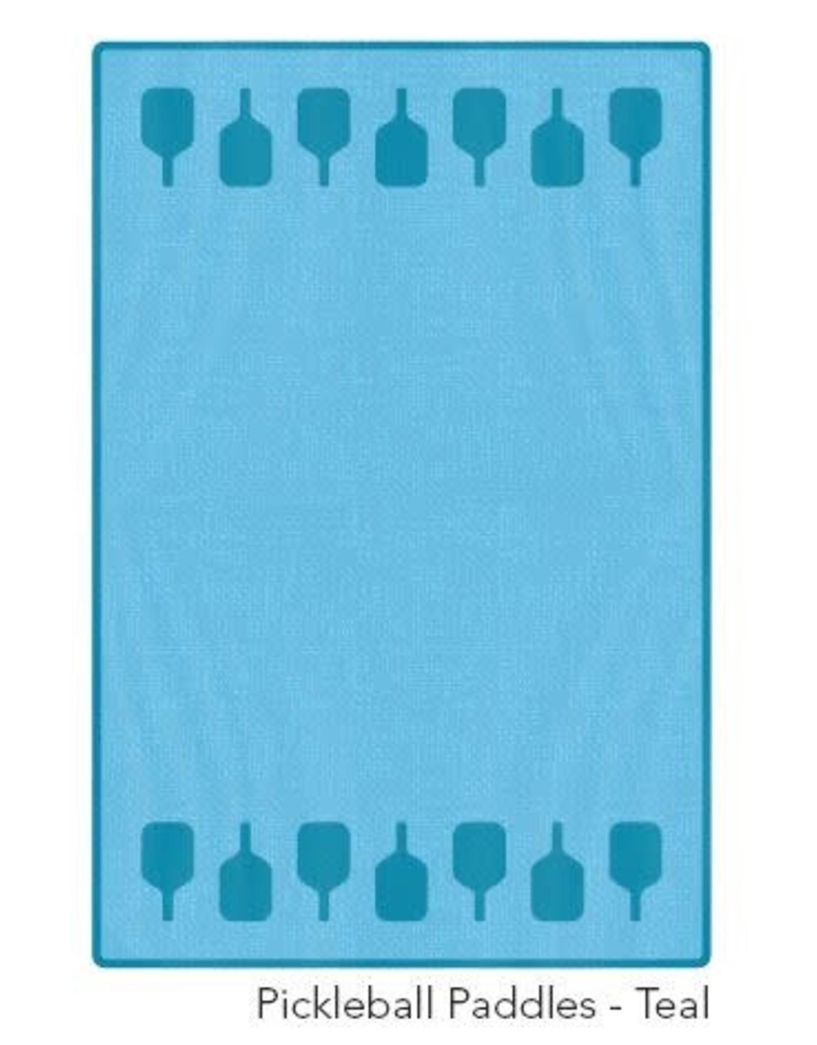 Racquet Inc Pickleball Paddles Towel (Teal)