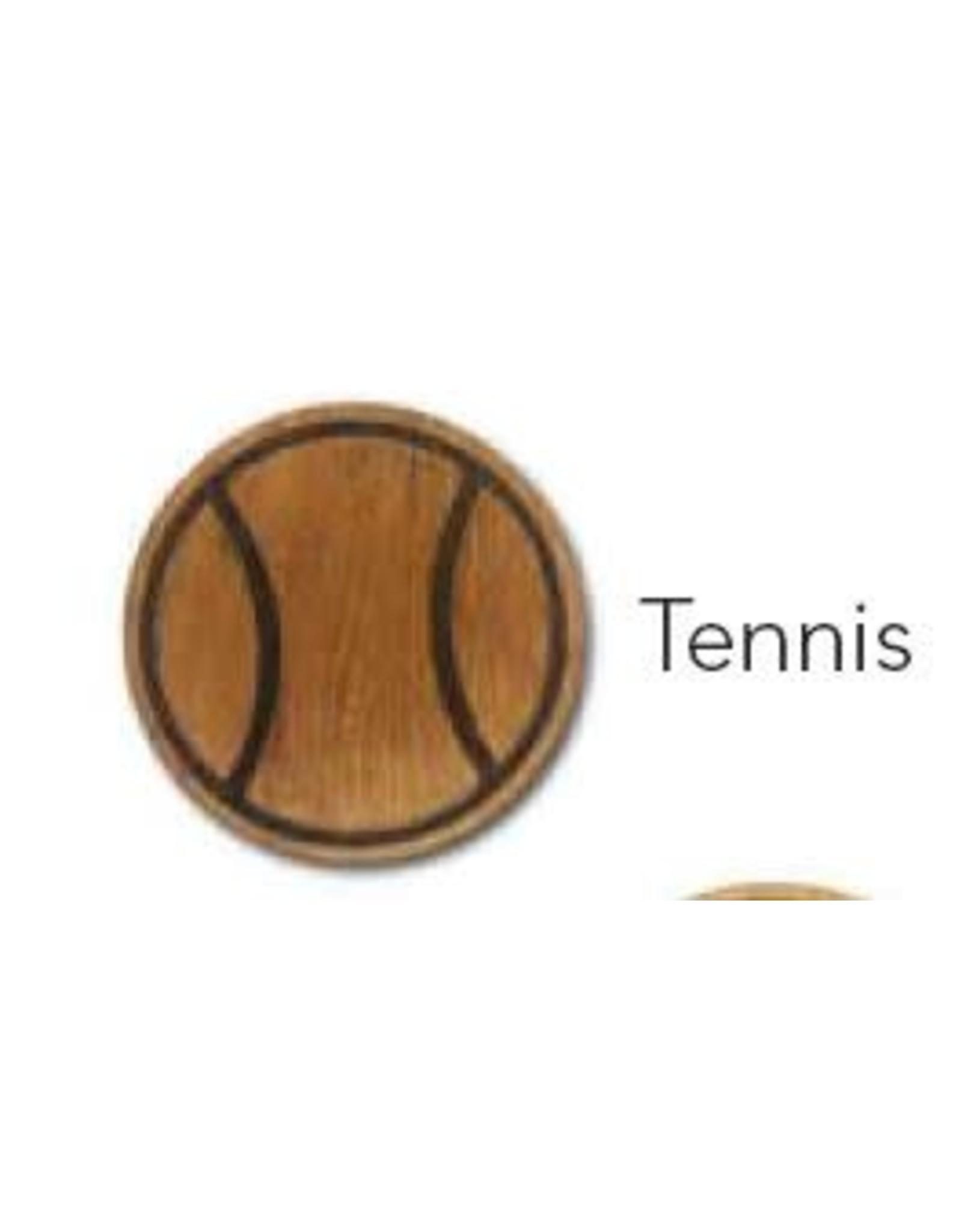 Racquet Inc Premium Wood Drink Coasters (Tennis)
