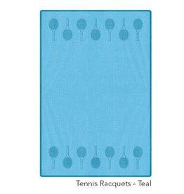 Racquet Inc Tennis Racquets Towel (Teal)