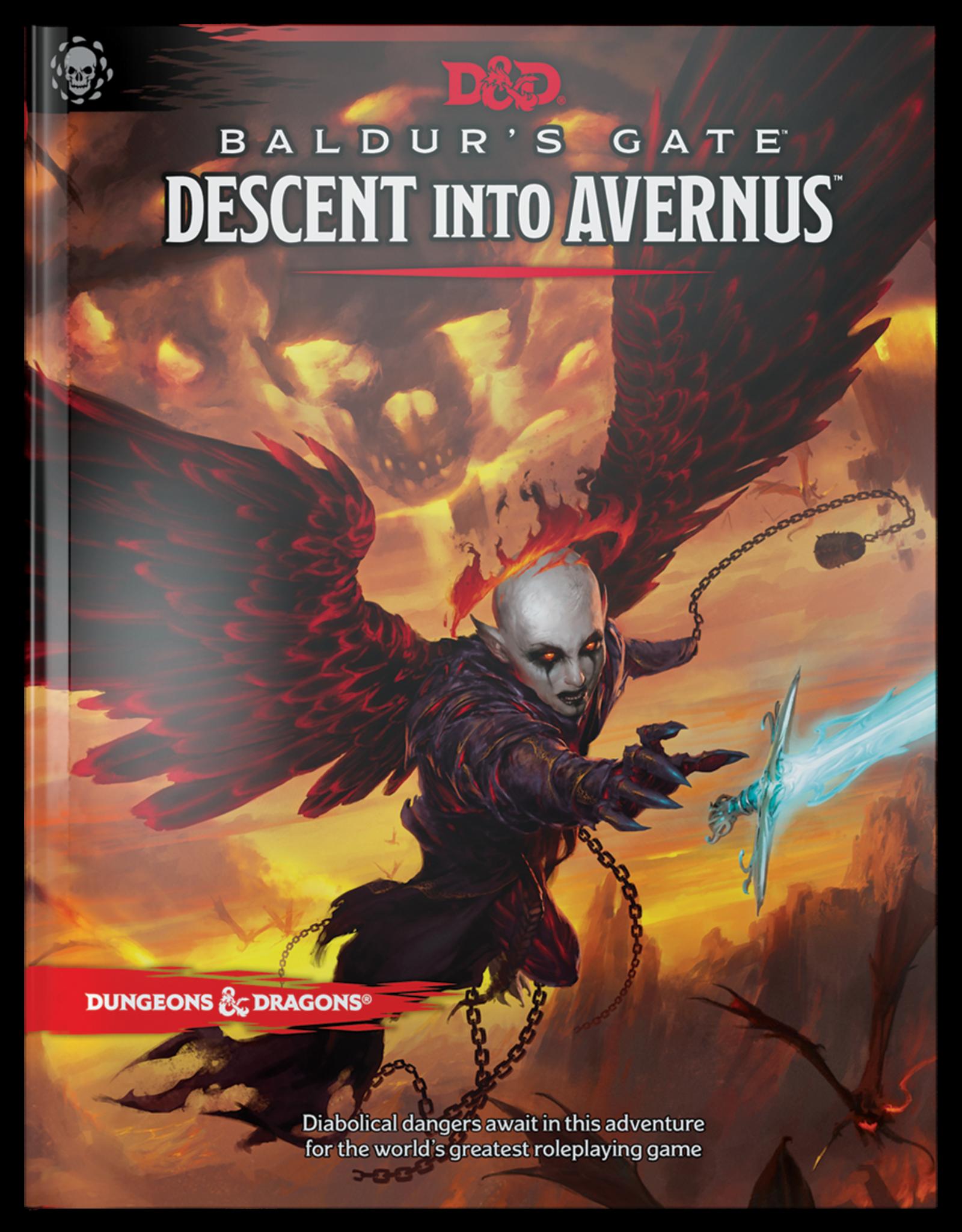 Dungeons & Dragons D&D 5th: Decent into Avernus