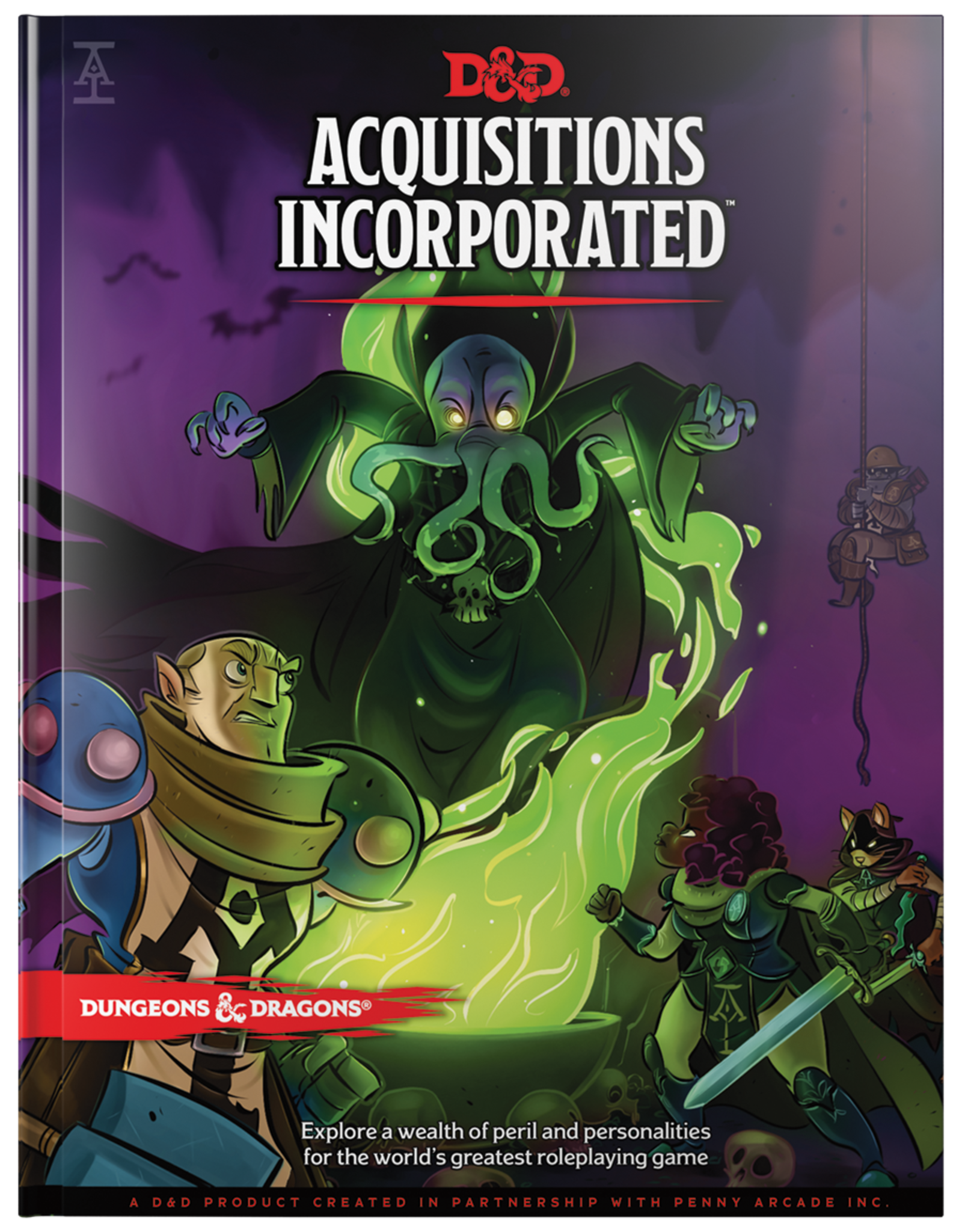 Dungeons & Dragons D&D 5th: Acquisitions Incorporated
