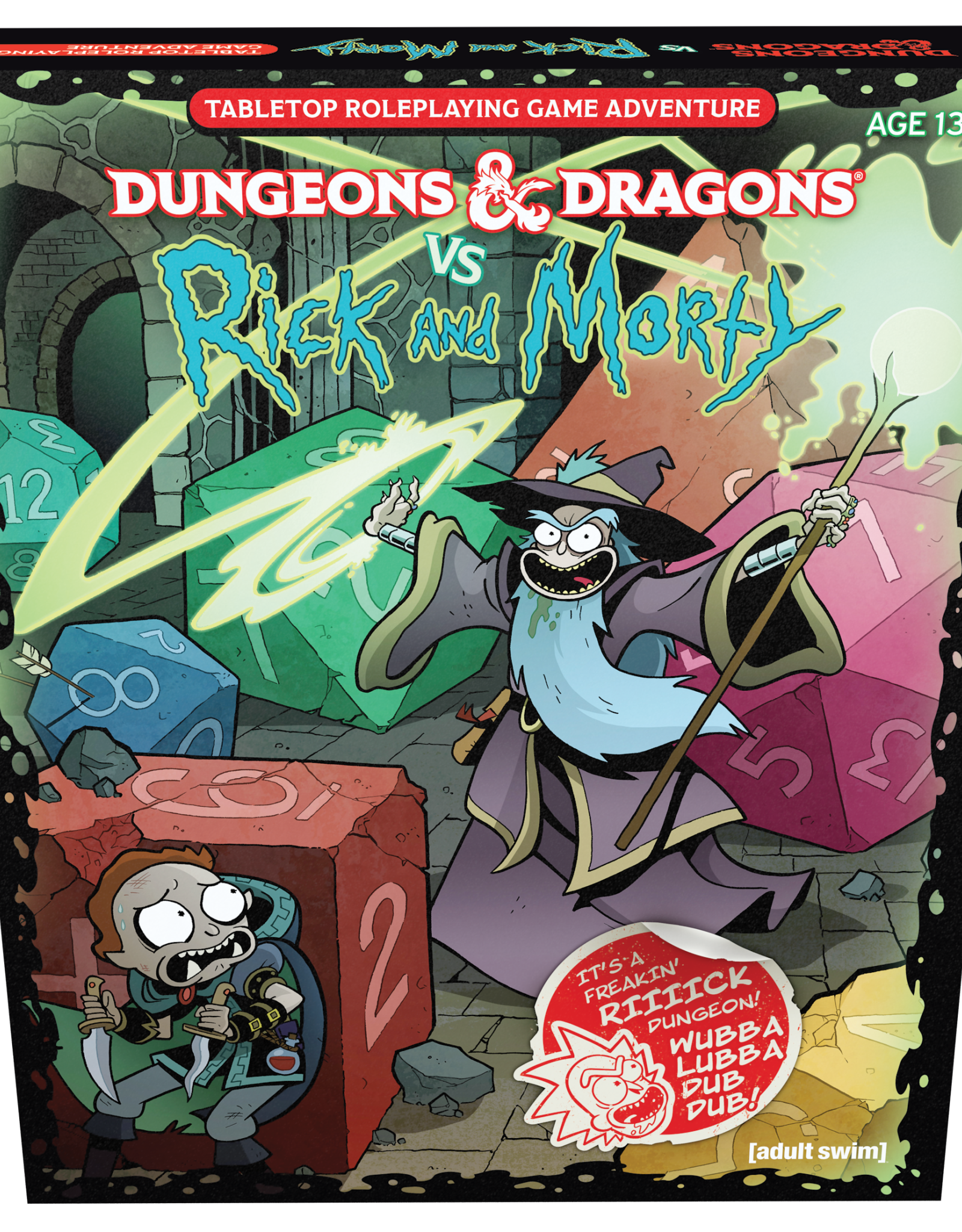 Dungeons & Dragons D&D 5th: Rick and Morty (vs)
